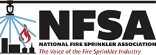 National Fire Sprinkler Association (NFSA) Logo